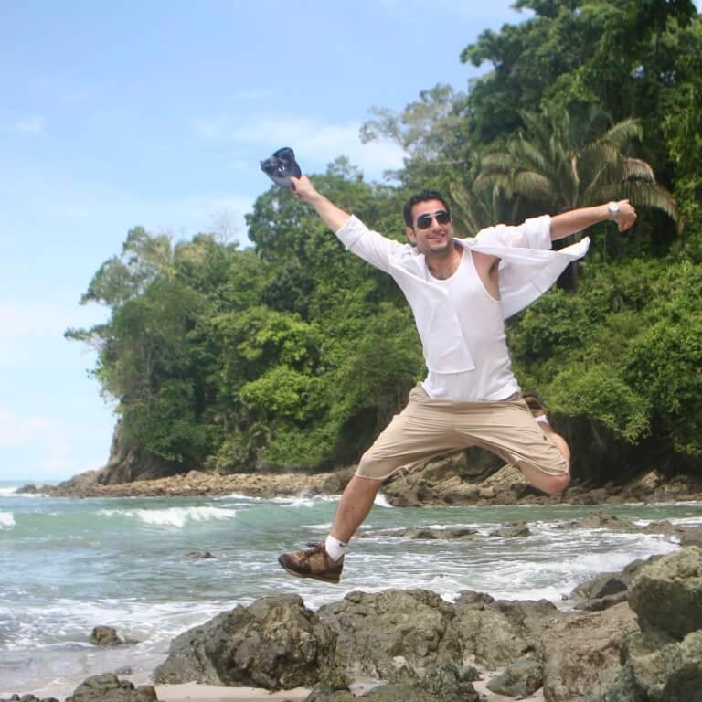 חופשי ומאושר בקוסטה ריקה